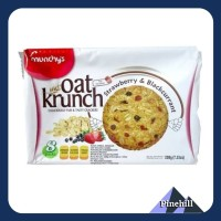 Munchy's Oat Krunch Strawberry & Bc - Munchy Biskuit Krakers Stroberi