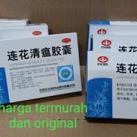 LIANHUA QINGWEN JIAONANG obat herbal flu demam panas