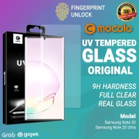 Tempered Glass Samsung Note 20 Ultra / Note 20 Mocolo Full Anti Gores - Note 20 Ultra, UV Glass