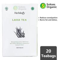 Laxa Tea - Detox & Lancar BAB 20 Kantong Teh Herbilogy