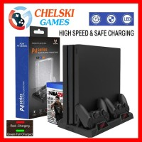 Lucky Fox Multifunctional Cooling Stand PS4, PS4 Slim, PS4 Pro LF-189