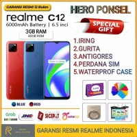 REALME C12 RAM 3/32 GB GARANSI RESMI REALME INDONESIA