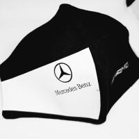 Masker Kain Mercedes Benz Amg 3