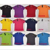 Adidas KW Baju Kaos Atasan Berlengan Olahraga Wanita Woman Gym Running