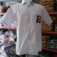 Baju Seragam SMA / Baju SMA Seragam Kemeja Lengan Pendek Size L XL XXL