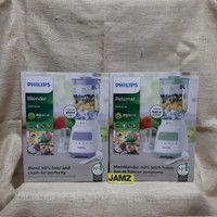 PHILIPS HR2222 Blender Kaca Beling 2 Liter HR 2222 - Abu-abu