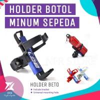 Holder BETO Tempat Minum Sepeda Aksesoris Bracket Botol - Hitam