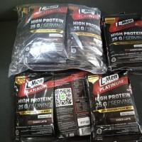 L-Men Platinum High Protein Whey Choco Latte Sachet 25gr