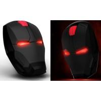 TaffWare GFSK-M8 Black Mouse Wireless Optical Iron Man 2.4Ghz