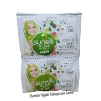 Shampo Sunsilk Hijab Anti Ketombe / 1 Karton 40 Renceng