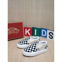 Sepatu Anak 1-7 Tahun Vans Slip On Chekerboard Og Bnib Import 20-35 - 32