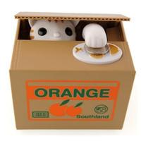 Mischief Saving Box ( Celengan Kucing )