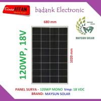 Panel Surya 120Wp MONO - Solar Cell Panel 120 Watt PV 120 Wp