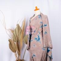 HOME DRESS/TUNIK/BLOUSE/PIYAMA SUPER RAYON TIE DYETD 51 ( COKSU-NAVY )