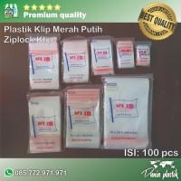 Plastik Klip / Obat / Ziplock Tebal 05 isi 100Pcs - 5x8