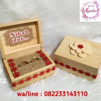 kotak perhiasan box tempat cincin couple kado hadiah unik romantis