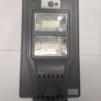 Lampu jalan solar panel 40w 40watt Lampu solar cell panel 40w40 watt