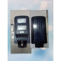 Lampu jalan solar cell panel 40w 40watt all in one Garansi Resmi