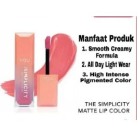 You The Simplicity Matte Lip Color by YOU Makeups - Sweet