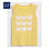 Kaos Anak Perempuan Flip Sequin GAP Kids (Kuning) - XS