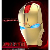 TaffWare Mouse Wireless Optical Iron Man 2.4Ghz - GFSK-M8 CNS