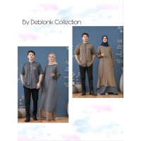 Nibras Couple Gamis Koko Dewasa Shadow NSK 71 dan NB A51