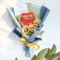 FERRERO ROCHER -Buket Wisuda -Buket Snack -Buket Bunga Kertas