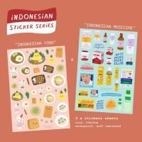 Moon Pancake Indonesian Sticker Series