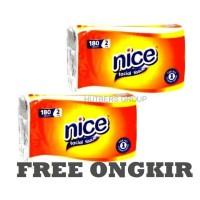 Tissue Nice 180 sheets 2ply hargamurah