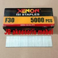 ISI PAKU TEMBAK NAILS F30 XENON / REFILL STAPLES TEMBAK 30 mm XENON