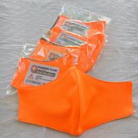 masker kain 2 ply Earloop Bahan Dryfit Olahraga Sepeda Bisa Dicuci
