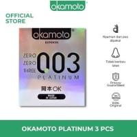 Kondom Okamoto 003 Condom Platinum 0.03