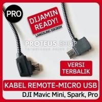 ✅ KABEL REMOTE DJI MAVIC MINI SPARK MICRO USB TERBALIK REVERSE CABLE