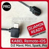 Kabel Remote DJI Mavic Mini Spark Pro iPhone iPad Lightning USB Cable