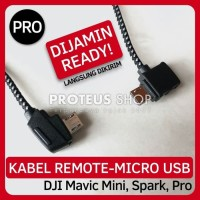 Kabel Remote DJI Mavic Mini Spark Pro Micro USB Data Cable ProteusShop