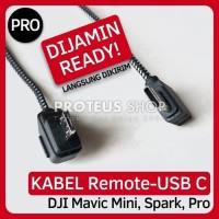 Kabel Remote DJI Mavic Mini Spark Pro USB Type C Micro USB Data Cable