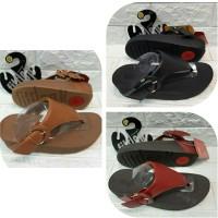 Sendal Jepit Wanita Fitflip Shiny Leather