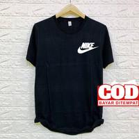 Kaos Distro Pria Murah Nike Bahan Cotton 30s - Putih, M
