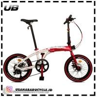 """Sepeda Lipat Pacific Noris Indonesia 20"""" 406"""