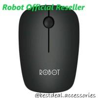 Robot M220 Mouse Wireless 2.4G Optical USB Original Vivan