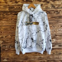 sweater racing hell putih hoodie jaket pria wanita