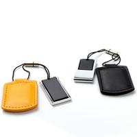 Souvenir Promosi Logo Perusahaan USB Flashdisk Kulit Mini Keychain