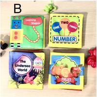 4 buah buku kain anak bayi murah dalam 1 paket byk pilihan