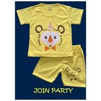 Setelan baju anak/baju anak murah/baju bayi motif join party