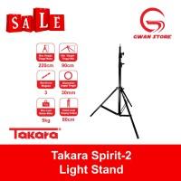Light Stand Takara Spirit-2 Lightstand Studio Flash Umbrella