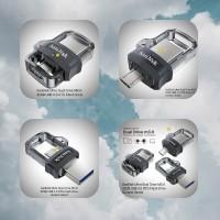 SanDisk Ultra Dual Drive 32GB USB 3.0 OTG Flash Drive Garansi Resmi