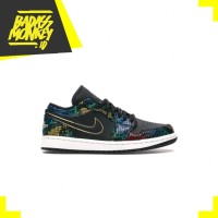 AIR JORDAN 1 LOW MULTICOLOR SNAKESKIN (W) - 7