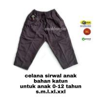 free ongkir cod celana anak sirwal 0-12 tahun