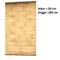 gorden bambu aten / kerei / tirai / krey bambu