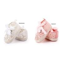 Pw165 - prewalker brokat pita sepatu anak bayi perempuan baby girl